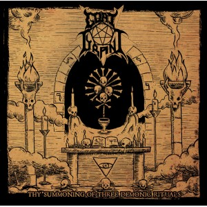 GOAT TYRANT - Thy Summoning of Three Demonic Rituals CD