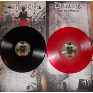 DECAYING - One To Conquer LP (BLACK)