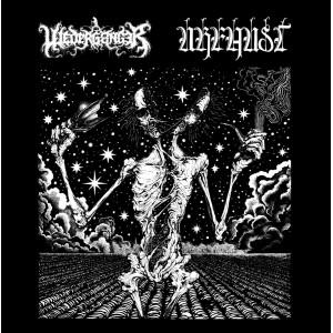 URFAUST / WEDERGANGER - split LP (BLACK)