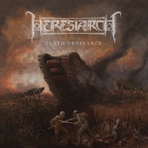 HERESIARCH - Death Ordinance LP (BLACK)