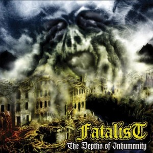 FATALIST - The Depths Of Inhumanity LP