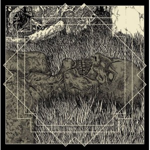 """Mitochondrion/Auroch - In Cronian Hour 7"""" EP (Bone White vinyl)"""