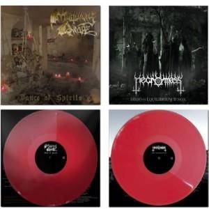 Mortuary Drape / Necromass  LP