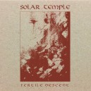SOLAR TEMPLE - Fertile Descent DIGI CD