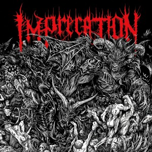 IMPRECATION - Damnatio Ad Bestias LP (BLACK)