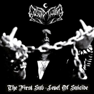 LEVIATHAN - The First Sublevel Of Suicide LP (GOLD)