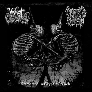 VIOLENT SCUM (Chile) / COFFIN CURSE (Chile) - Immersed in Cryptic Stench CD