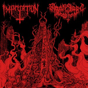 Imprecation / Black Blood Invocation LP