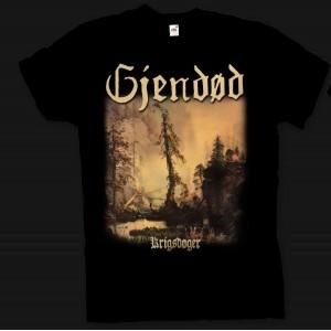 Gjendød - Krigsdøger t-shirt XL