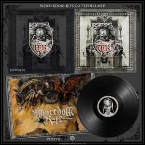 WHOREDOM RIFE - st LP