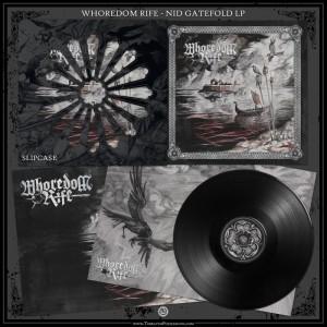 Whoredom Rife - Nid: Hymner Av Hat LP (BLACK)