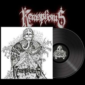 KERASPHORUS - Necronaut + Cloven Hooves LP (BLACK)
