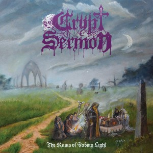 Crypt Sermon ‎- The Ruins Of Fading Light CD