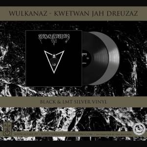Wulkanaz - Kwetwan Jah Dreuzaz LP (BLACK)