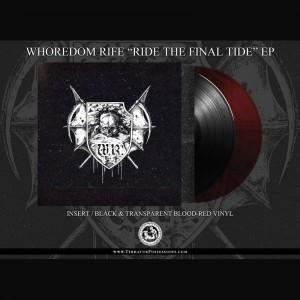 Whoredom Rife - Ride The FInal Tide EP (BLACK)