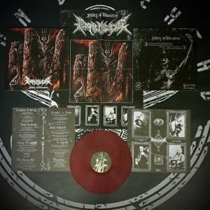 Temple Nightside - Pillars of Damnation LP (COLOR)