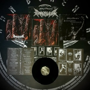 Temple Nightside - Pillars of Damnation LP
